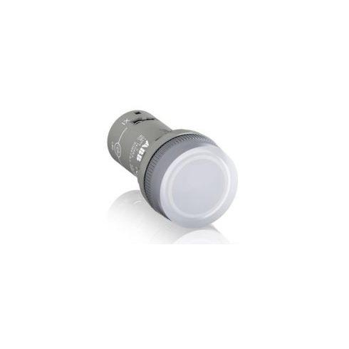 ABB 1SFA619403R5238 CL2-523C Jelzőlámpa, 230VAC, kompakt, fehér