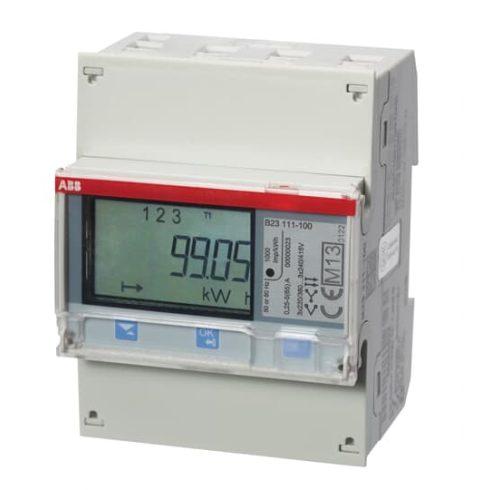ABB B23111100 2CMA100163R1000 Fogyasztásmérő 3f 3x62A