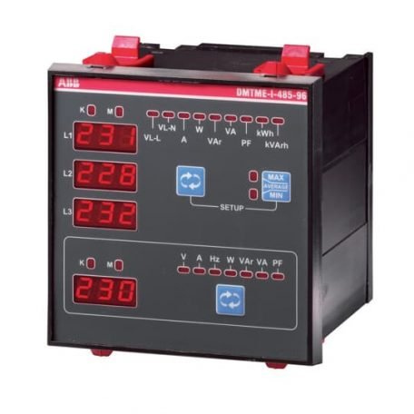 ABB 2CSG133030R4022 DMTME/96 Háromfázisú digitális multiméter 230/400V AC 96x96mm