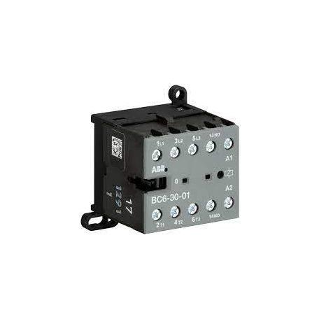 ABB BC7-30-10-1.4-24DC interfész minikontaktor 5.5 kW 11A AC3 3P+1NO 24V DC csavaros
