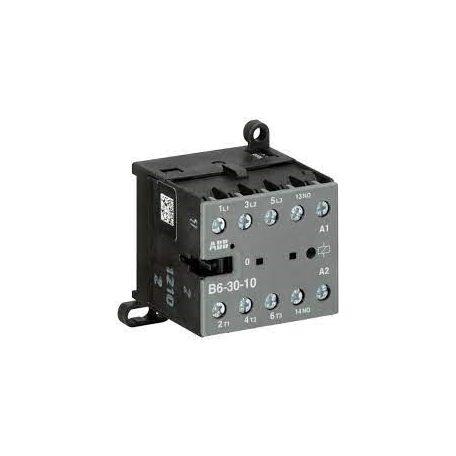ABB GJL1211001R0101 B6-30-10-24AC Mágneskapcsoló 3P+1NO,8A, 24V 4,0 kW, csavaros csatlakozás