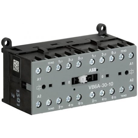 ABB GJL1211911R0101 VB6A-30-10-24AC Minikontaktor 3P+1NO 20A 24V~ 400V  4kW 8A AC3