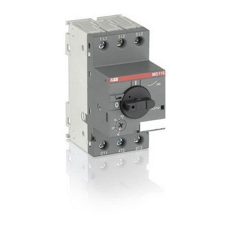 ABB MS116-0,4 1SAM250000R1003 Motorvédő 0,25-0,4A 50 kA elektrom.és termikus kioldóval