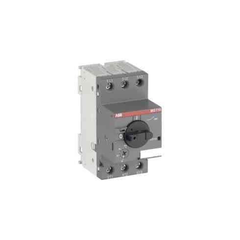 ABB MS116-0,63 1SAM250000R1004 Motorvédő 0,4-0,63A 50 kA elektrom.és termikus kioldóval