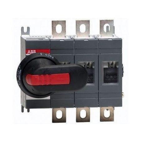 ABB OT200E03P 1SCA022712R0800 Szakaszolókapcsoló, 3P, 200A, Hajtás: bal oldalon