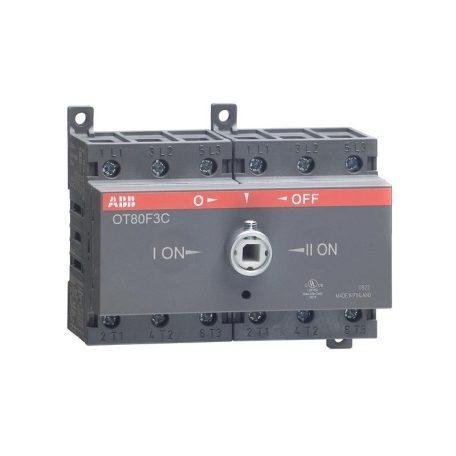 ABB OT63F3C 1SCA105338R1001 Szakaszolókapcsoló, 3P, 63A, AC22A, 415V