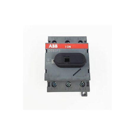ABB OT80F3 1SCA105402R1001 szak.kapcs, 3P,80A,AC22A,400V, mellső műk, DIN sínre/szer.lapra