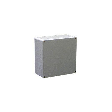 Csatári Plast CSP 252512 Poliészter doboz 250x250x120 üres IP65 szürke
