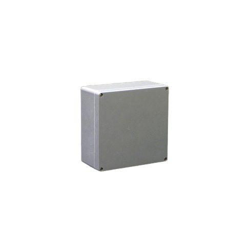 CSP 252512 Poliészter doboz 250x250x120 üres, IP65, szürke