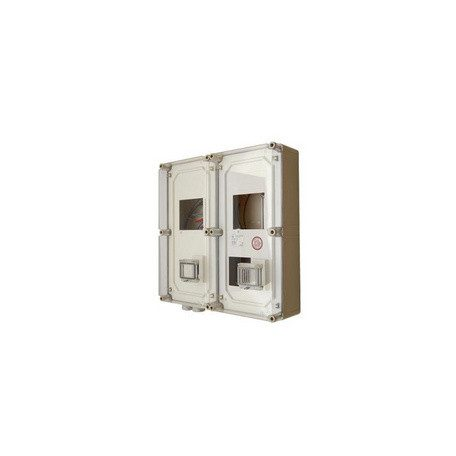 Csatári Plast CSP 38240003 PVTD1/3VFm-E 1-3F ált+vez fogyasztásmérő DÉMÁSZ