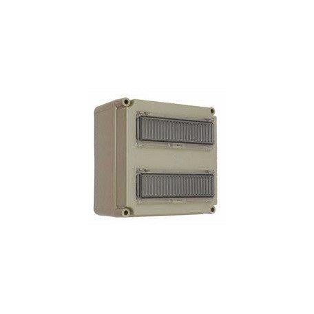 Csatári Plast CSP 33106000 PVT 3030 ÁK 2x12 Kismegszakítós szekrény 2x12