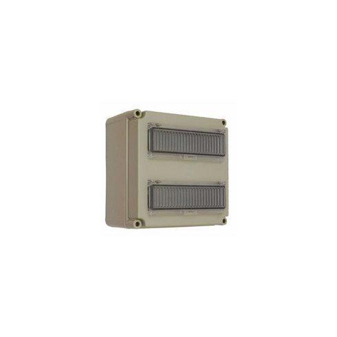 CSP 33106000 PVT 3030 ÁK 2x12 Kismegszakítós szekrény 2x12