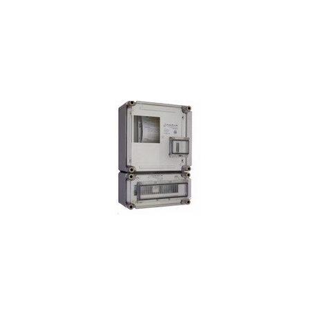 Csatári Plast CSP 33215001 PVT 3030 ÁK 12 – A Fogyasztásmérő szekrény fekete