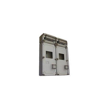 Csatári Plast CSP 34365500 PVT 6060 Á-V Fm ÁK fogyasztásmérőmérő szekrény Kismegszakító szekrény