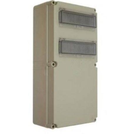 Csatári Plast CSP 36106000 PVT 3060 ÁK 2x12 Fogyasztásmérő +24modulos300x600x170