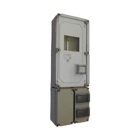 CSP 36331400 PVT 3060 FO 2x6 ÁK Fogyasztásmérő szekrény 3f. 300x600x170