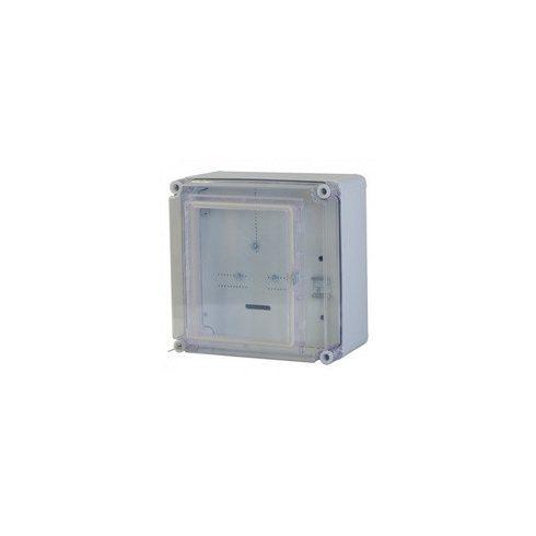 CSPEA 33010000 PVT EON 3030 – 1 Fm - AM Egyfázisú Fogyasztásmérő szekrény alsó maszkos, EON eng
