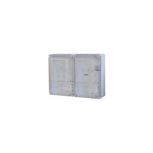 CSPEA 37060000 PVT EON 6045 Á-V Fm - AM 2x1-3F+vez. Fogyasztásmérő szekr. EON eng. alsó maszk, zárható