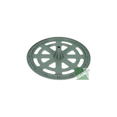 DEHN 253300 tetővezető-tartó műa. alátétlap D 300 mm D 10 mm hüvellyel PE D 10 mm GFK rúdhoz
