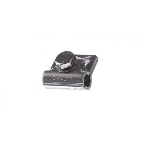 DEHN 390551 MV-kapocs Al Rd 8-10 mm-hez hatlapfejű csavarral és rugós alátéttel