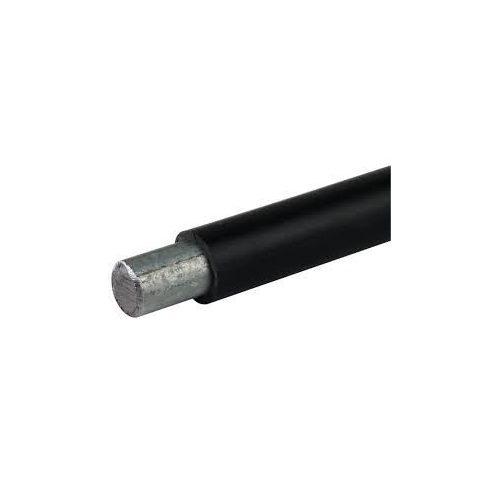 DEHN 800110 Köridomvezető Rd 10/13 mm fek.műan+köpeny,St/Zn 0,68kg/m