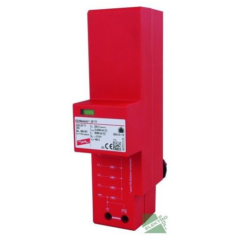 DEHN 900396 DEHNshield DSH ZP B TT 255, 3P 1+2 tip. túlfesz. levezető