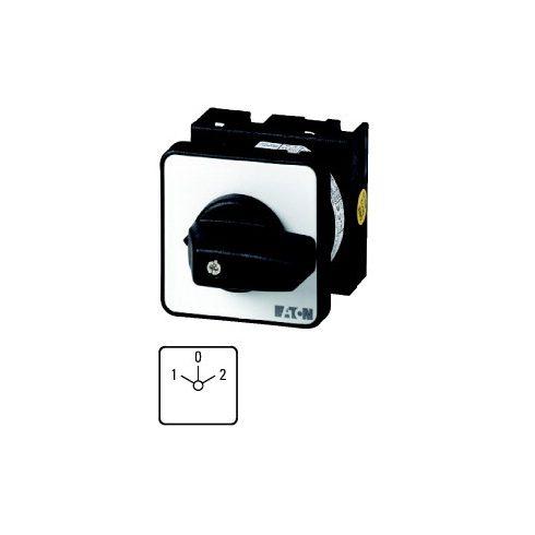 EATON 048337 T0-1-8210/EZ Kézikapcsoló 10A 22mm 1P átk. 1-0-2 IP65