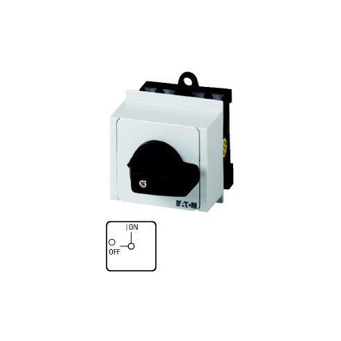 EATON 074471 T0-1-8200/IVS Kézikapcsoló 1p 20A sorolható 1P be-ki