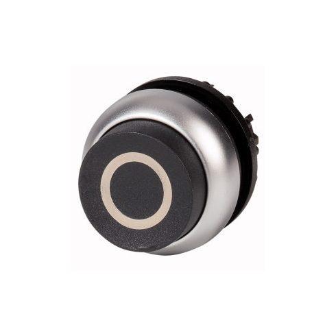 EATON 216659 M22-DH-S-X0 Nyomógomb, magas, fekete