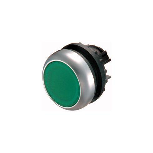 EATON 216948 M22-DRL-G Világító nyomógomb,lapos,zöld M22-DRL-G (reteszelt)