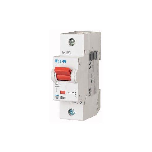 EATON 247988 PLHT-C100 Kismegszakító 1P/100A/C PLHT  25kA