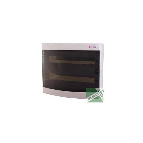 ETI 1101081 Kiselosztó ECT2x18PT fali, átl.ajtóval