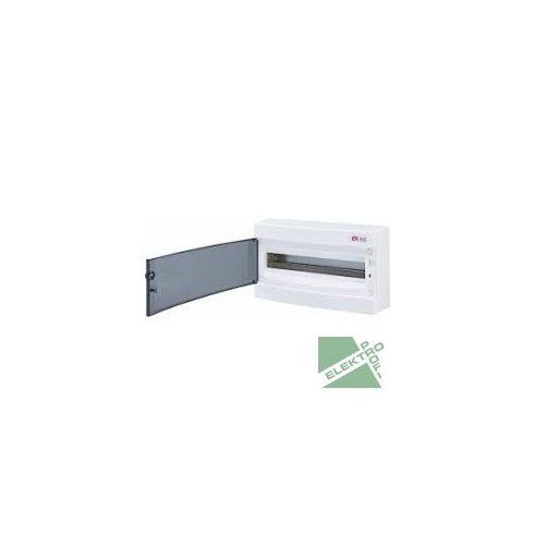 ETI 1101002 Kiselosztó ECT18PT 18M fali, átl.ajtóval IP40 PE+N
