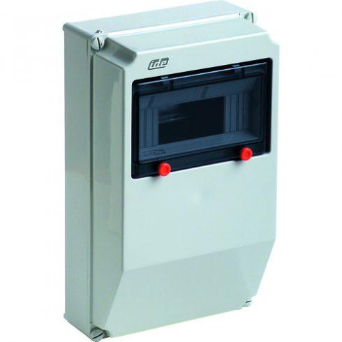 IDE 10102 17.8M/RR Kiselosztó PRYMA 1/ 9 fk. műa. IP67 PE+N átl. ajtó