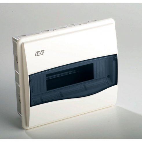 IDE 30752 BM12PT/RR Kiselosztó ORO 1/12 fehér sü. műa. IP40 PE+N átl. ajtó