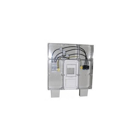 Csatári Plast CSP   35490001 PVT EON 9090 N3x160A-AM áramváltós szekrény 125/5A 0,5s áramváltóval