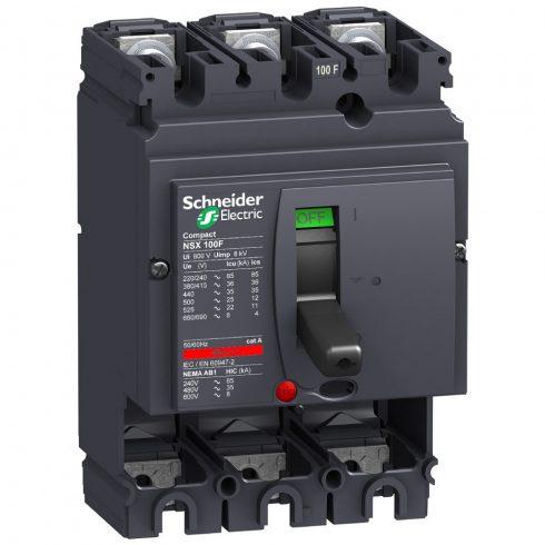 Schneider LV429003 COMPACT NSX 100F 3P 415V~  35kA  védelem nélkül