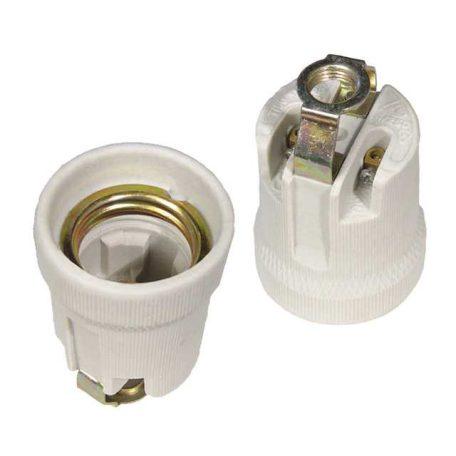 Kanlux 2162 CP800D E27 Foglalat kerámia E27 fehér, 4A 02162