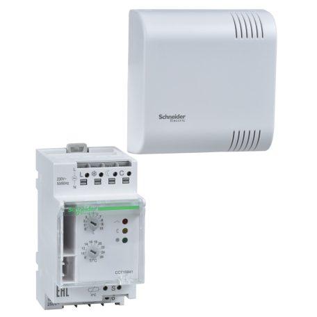 Schneider CCT15841 ACTI9 TH4 elektronikus termosztát, érzékelővel